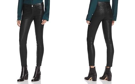 FRAME Le Skinny Leather Pants - Bloomingdale's_2