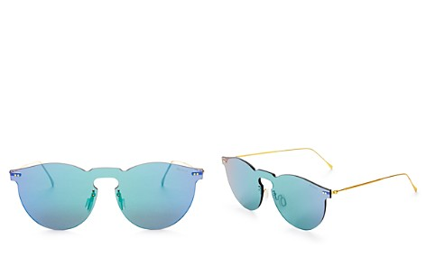 Illesteva Women's Leonard Mirrored Shield Sunglasses, 55mm - Bloomingdale's_2