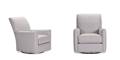 Bloomingdale's Artisan Collection Lucy Swivel Chair _2