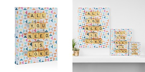 "DENY All You Need is Love Canvas, 8"" x 10"" - Bloomingdale's_2"