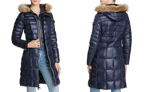 Marc New York Lindsay Fur Trim Down Coat - Bloomingdale's_2