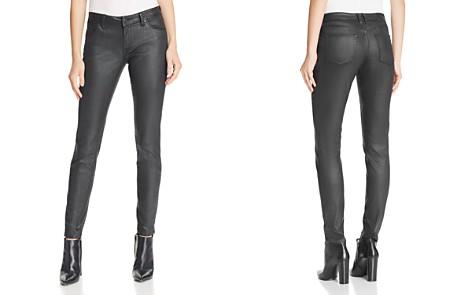 Burberry Coated Skinny Jeans in Black - Bloomingdale's_2