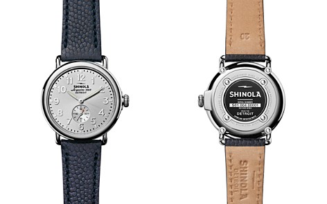 Shinola The Runwell Leather Strap Watch, 41mm - Bloomingdale's_2