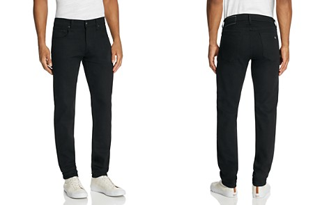 rag & bone Standard Issue Fit 1 Super Slim Fit Jeans in Black - Bloomingdale's_2