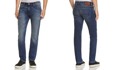 Mavi Zach Straight Fit Jeans in Mid Shade Williamsburg - Bloomingdale's_2