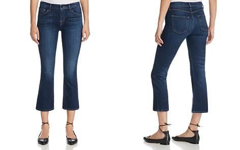 J Brand Selena Mid Rise Crop Jeans in Mesmeric - Bloomingdale's_2