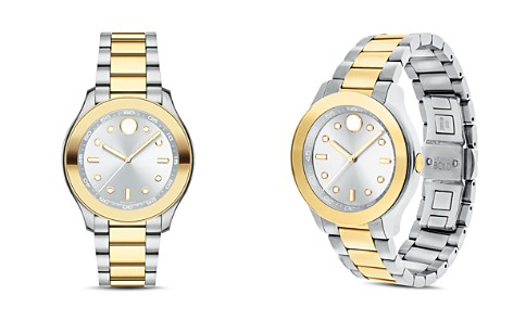 Movado BOLD Two Tone Sport Watch, 38mm - Bloomingdale's_2