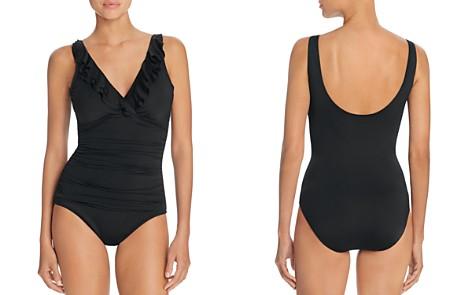Lauren Ralph Lauren Beach Ruffled One Piece Swimsuit - Bloomingdale's_2
