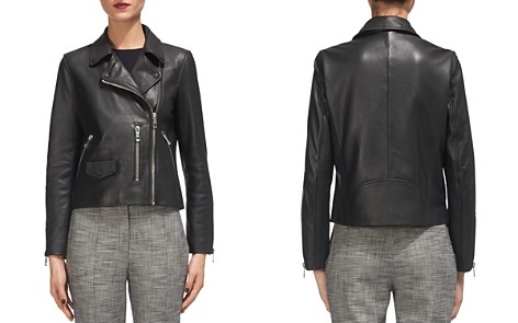 Whistles Agnes Leather Moto Jacket - Bloomingdale's_2