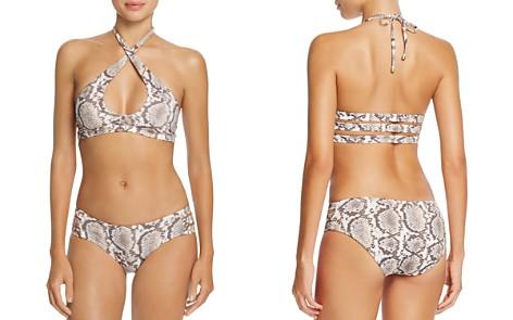 Vitamin A Camilla Crisscross Halter Bikini Top & Emelia Bikini Bottom - Bloomingdale's_2