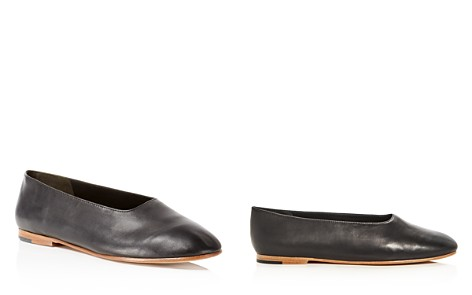 Vince Women's Maxwell Leather Flats - Bloomingdale's_2