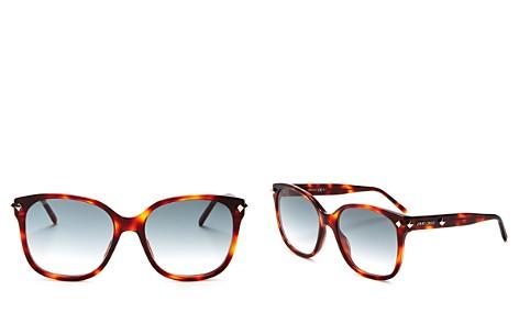 Jimmy Choo Dema Square Sunglasses, 56mm - Bloomingdale's_2