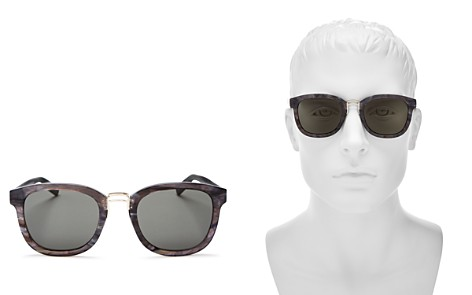 Dior Homme Men's Round Sunglasses, 50mm - Bloomingdale's_2