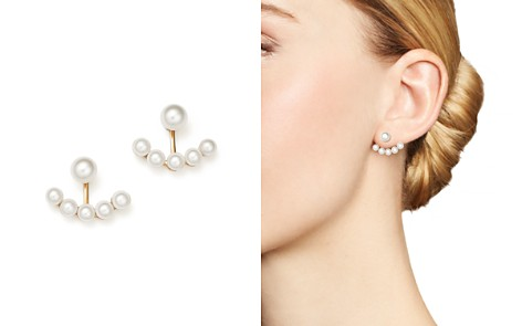 MATEO 14K Yellow Gold Floating Cultured Freshwater Pearl Ear Jackets - Bloomingdale's_2