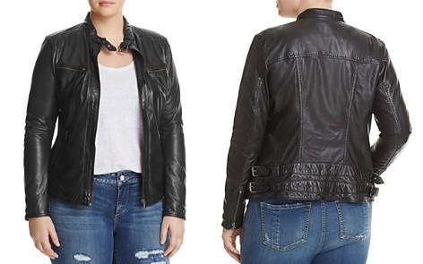 SLINK Jeans Leather Moto Jacket - Bloomingdale's_2