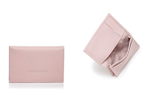 Longchamp Flap Leather Card Case - Bloomingdale's_2