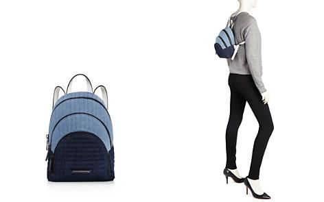 KENDALL and KYLIE Sloane Mini Denim Backpack - 100% Exclusive - Bloomingdale's_2