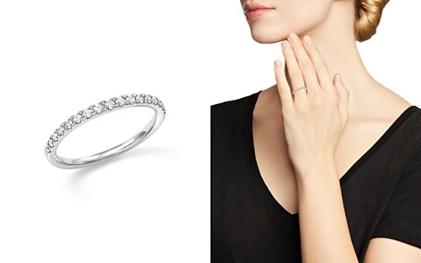 Diamond Micro-Pave Stack Ring in 14K White Gold, .25 ct. t.w. - Bloomingdale's_2