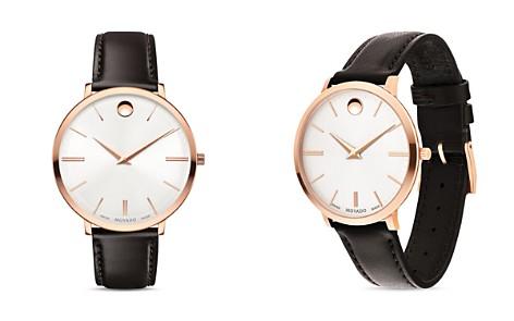 Movado Ultra Slim Watch, 35mm - Bloomingdale's_2