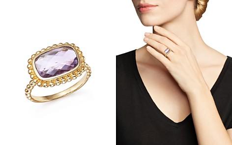 Rose Amethyst Beaded Ring in 14K Yellow Gold - 100% Exclusive - Bloomingdale's_2