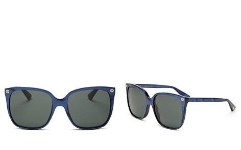 Gucci Square Sunglasses, 57mm - Bloomingdale's_2