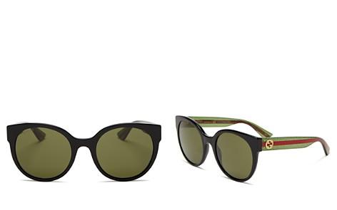 Gucci Cat Eye Logo Sunglasses, 54mm - Bloomingdale's_2