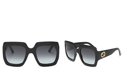 Gucci Women's Oversized Square Sunglasses, 54mm - Bloomingdale's_2