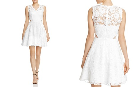AQUA Lace Illusion Detail Dress - 100% Exclusive - Bloomingdale's_2