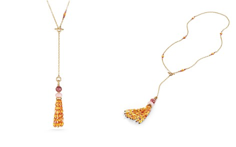 David Yurman Mustique Tassel Necklace with Pink Opal, Citrine and Pink Tourmaline in 18K Yellow Gold - Bloomingdale's_2