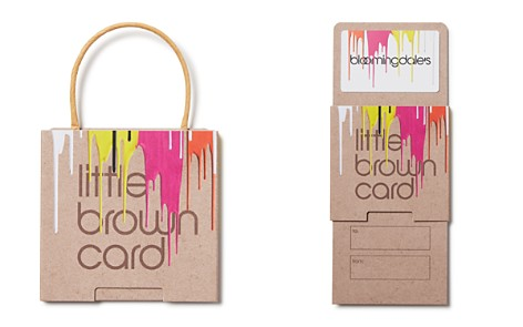 Bloomingdale's Painted Little Brown Gift Card_2