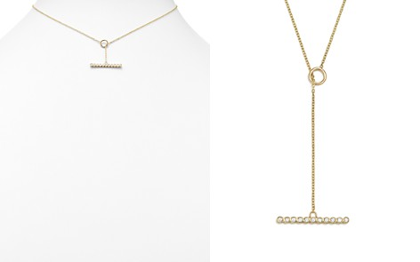 Zoë Chicco 14K Yellow Gold Choker with Diamond Bezel Toggle Bar - Bloomingdale's_2