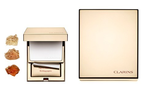 Clarins Pore-Perfecting Mattifying Compact with Blotting Papers - Bloomingdale's_2