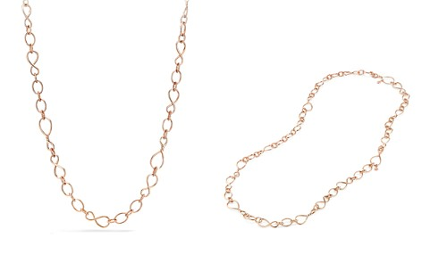 David Yurman Continuance Medium Chain Necklace in 18K Rose Gold - Bloomingdale's_2