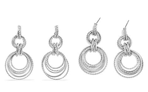David Yurman Crossover Double Drop Earrings with Diamonds - Bloomingdale's_2
