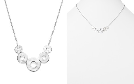 "IPPOLITA Sterling Silver Senso™ Graduated Five Disc Necklace, 16"" - Bloomingdale's_2"