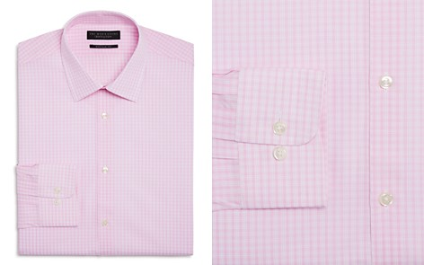 The Men's Store at Bloomingdale's Check Regular Fit Dress Shirt_2