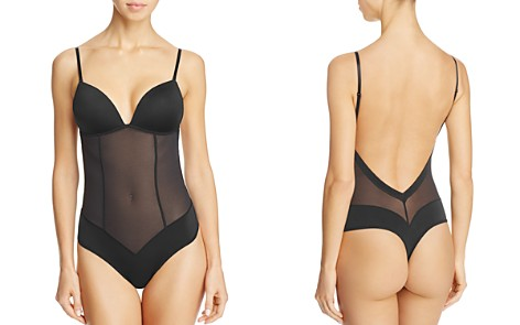 Fine Lines Low Back Convertible Bodysuit - Bloomingdale's_2