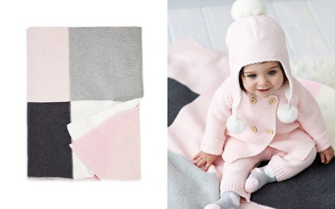 Elegant Baby Infant Girls' Patchwork Blanket - Bloomingdale's_2