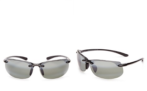 Maui Jim Men's Banyans Polarized Rimless Wraparound Sunglasses, 73mm - Bloomingdale's_2