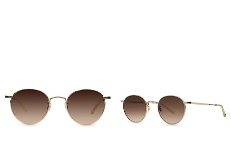 GARRETT LEIGHT Wilson Mirrored Round Sunglasses, 49mm - Bloomingdale's_2