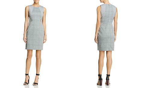 Calvin Klein Faux Belt Sheath Dress - 100% Exclusive - Bloomingdale's_2