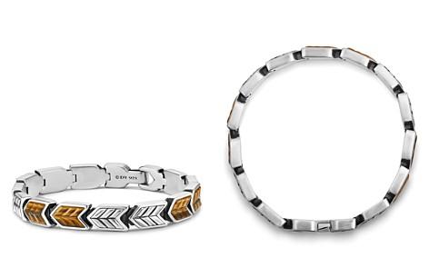 David Yurman Chevron Link Bracelet with Tiger's Eye - Bloomingdale's_2