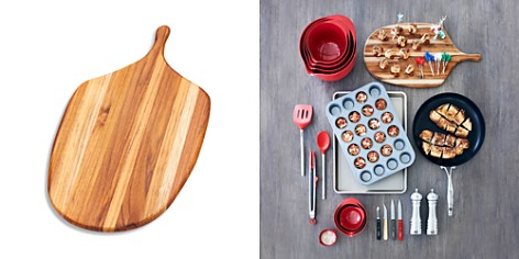 Teakhaus by Proteak Edge Grain Canoe Large Paddle Cutting Board - Bloomingdale's_2