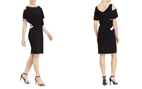 Lauren Ralph Lauren Cold-Shoulder Dress - Bloomingdale's_2