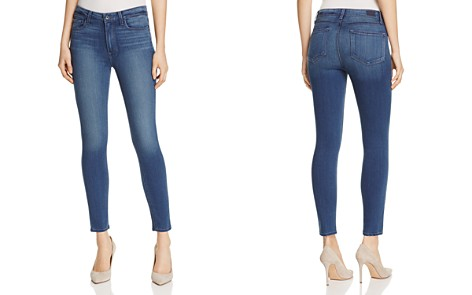 PAIGE Hoxton Skinny Jeans in Vida - Bloomingdale's_2