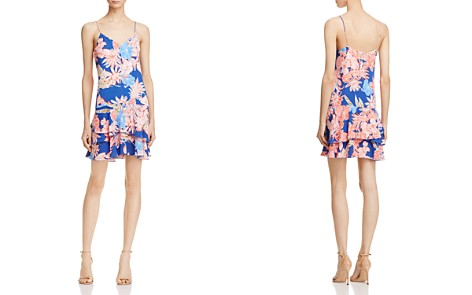 Cooper & Ella Jessica Tropical Print Dress - Bloomingdale's_2