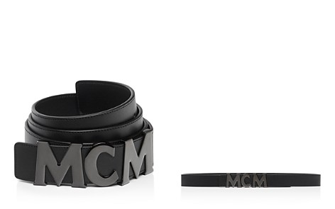 MCM MCM Collection Leather Belt - Bloomingdale's_2