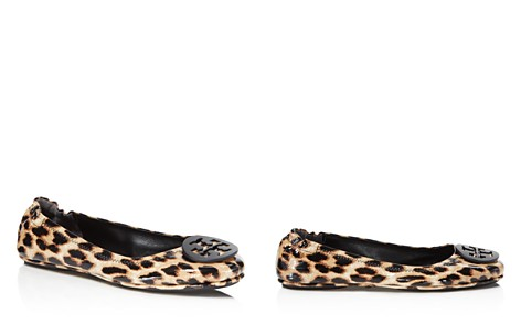 Tory Burch Minnie Leopard Print Patent Leather Travel Ballet Flats - Bloomingdale's_2