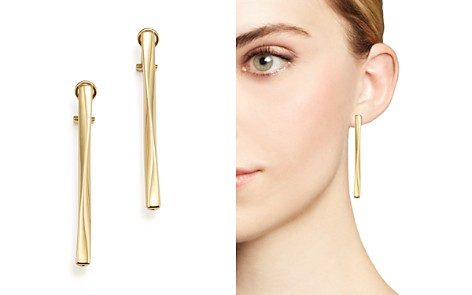 Roberto Coin 18K Yellow Gold Oro Classic Earrings - Bloomingdale's_2