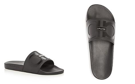 Salvatore Ferragamo Men's Groove 2 Slide Sandals - 100% Exclusive - Bloomingdale's_2